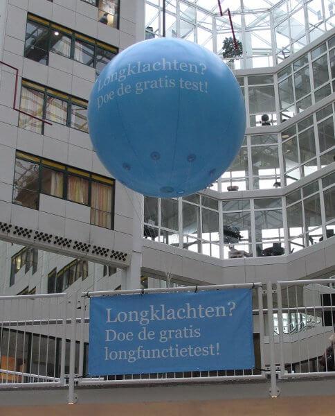 Bluebird-Balloons - Infoballon / Event-Ballon
