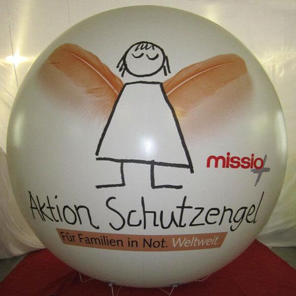 Bluebird-Balloons - Messeballone / Werbeballone / Heliumballone