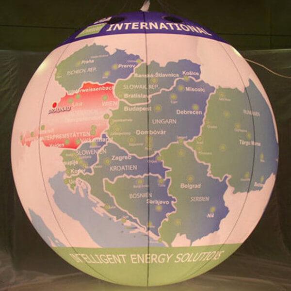 Messeballon / Leuchtballon / Motivballon