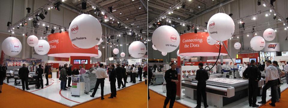 Trade fair balloons - advertising balloons